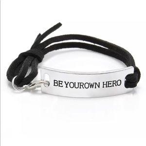 Be your own hero Bracelet